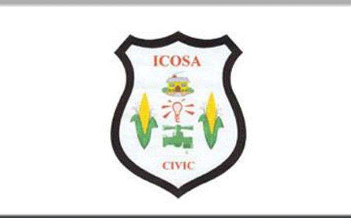 The Independent Civic Organisation of South Africa logo. Picture: Facebook.