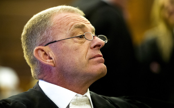 FILE: State prosecutor, Gerrie Nel, sits in court during hearing as the state pleads its case in trying to challenge Oscar Pistorius's culpable homicide conviction on 3 November 2015. Picture: Pool.