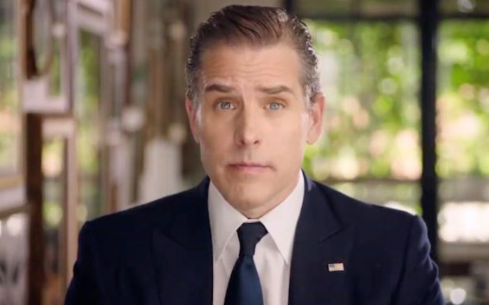 FILE: This video grab made on 20 August 2020 from the online broadcast of the Democratic National Convention shows Democratic presidential nominee Joe Biden's son Hunter Biden speaking during the last day of the convention. Picture: DEMOCRATIC NATIONAL CONVENTION/AFP
