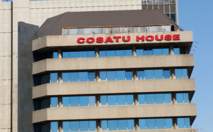 FILE: Congress of South African Trade Union (Cosatu) house in Braamfontein, Johannesburg. Picture: Janice Healing/EWN.