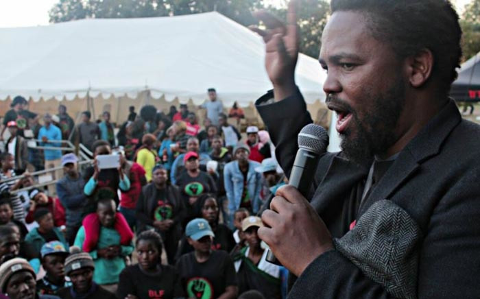 FILE: Black First Land First leader Andile Mngxitama. Picture: Facebook.com.
