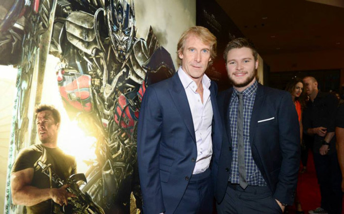 Director Michael Bay and Actor Jack Reynor at the Miami Special Screening of 'Transformers: Age of Extinction' at Aventura Mall on 26 June 2014. Picture: Facebook.