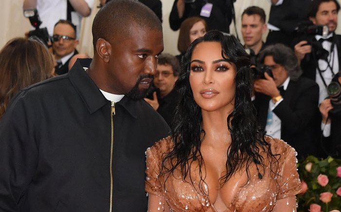 FILE: Kim Kardashian and Kanye West arrive for the 2019 Met Gala at the Metropolitan Museum of Art on 6 May 2019, in New York. Picture: AFP