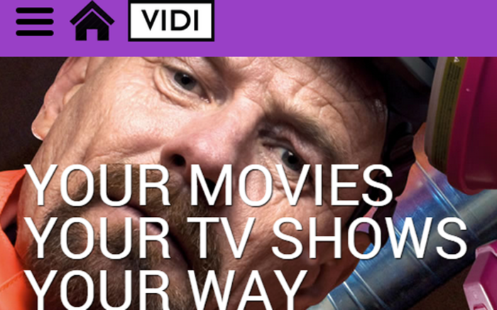 Times Media Group has launched Video, a video-on-demand service. Picture: www.vidi.co.za.