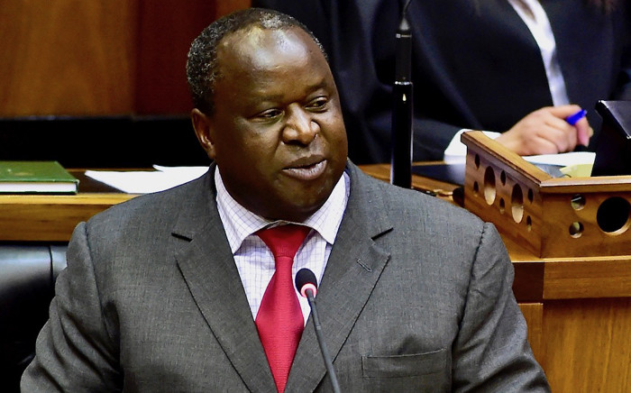 Finance Minister Tito Mboweni delivers the 2018 Medium-Term Budget Policy Statement in Parliament on 24 October 2018. Picture: GCIS.