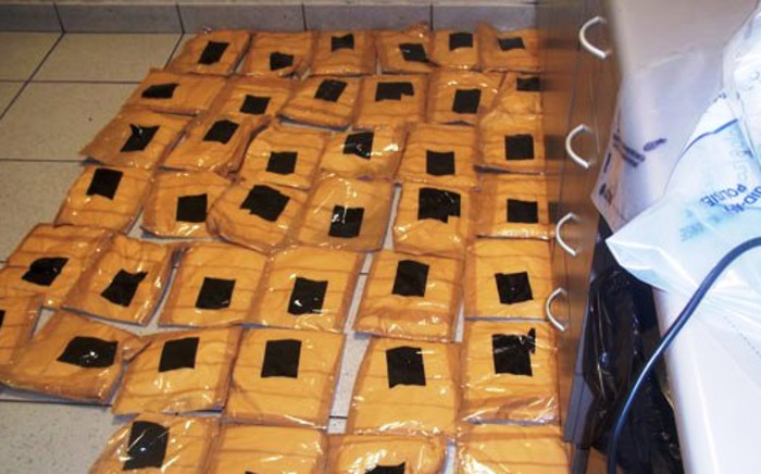 FILE: Cocaine bust at OR Tambo International Airport. Picture: SAPS