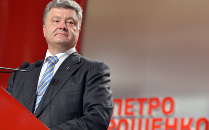 Ukrainian President Petro Poroshenko on Friday ordered a seven-day ceasefire in the fight against pro-Russian separatists. Picture: AFP/SERGEI SUPINSKY