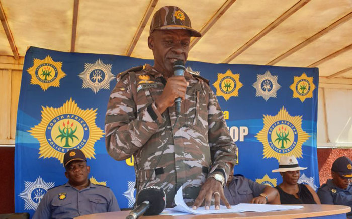FILE: National Police Commissioner Khehla Sitole. Picture: @SAPoliceService/Twitter