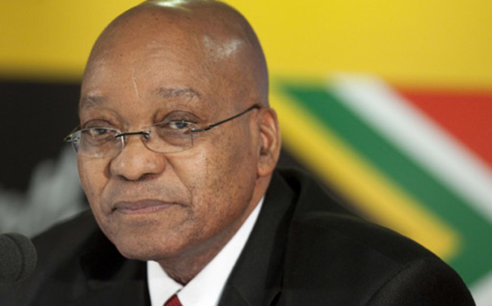 South African President Jacob Zuma. Picture: AFP.