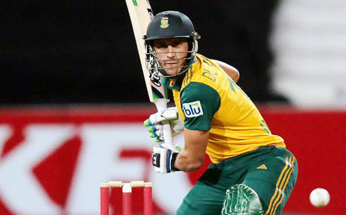 Proteas T20 captain Faf du Plessis will lead his side out for a semi-final against India on Friday. Picture: Facebook.
