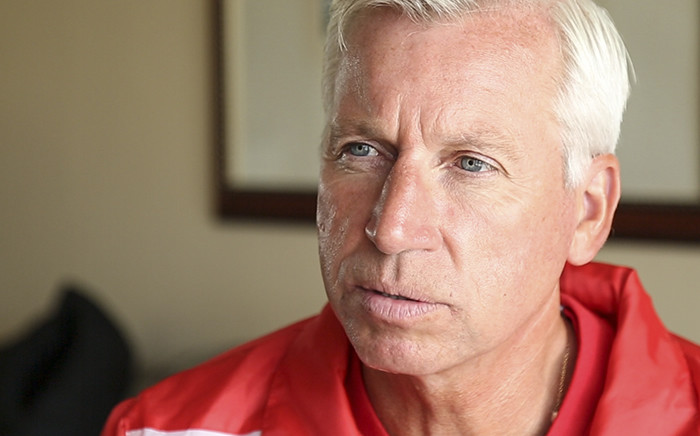 Crystal Palace Manager Alan Pardew talks to EWN Sport on 23 July 2015 ahead of the inaugural Cape Town Cup. Picture: EWN