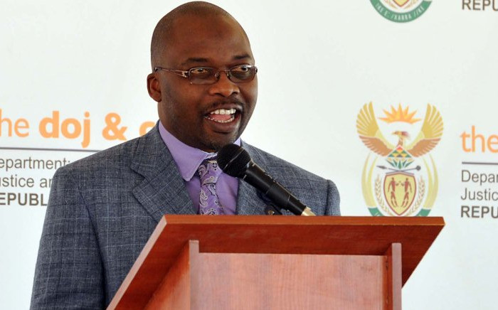 Minister of the Department of Justice Michael Masutha. Picture:GCIS