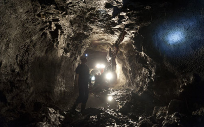 Mine shaft. Picture: AFP