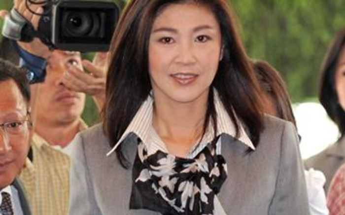 Thailand's first female prime minister Yingluck Shinawatra. Picture: AFP.