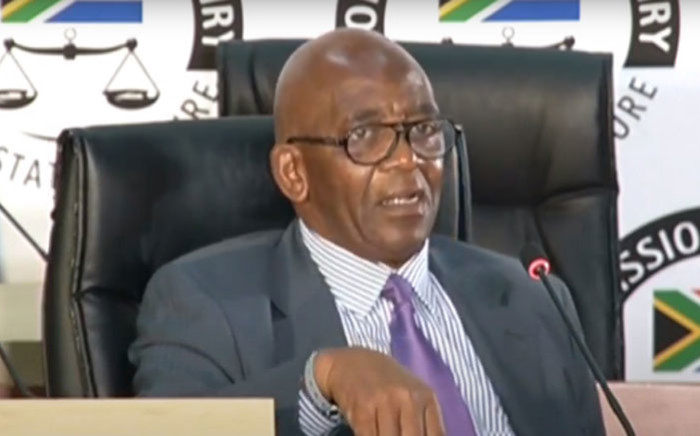 A screengrab shows former Eskom chair Zola Tsotsi at the state capture inquiry on 9 September 2020. Picture: SABC Digital/YouTube