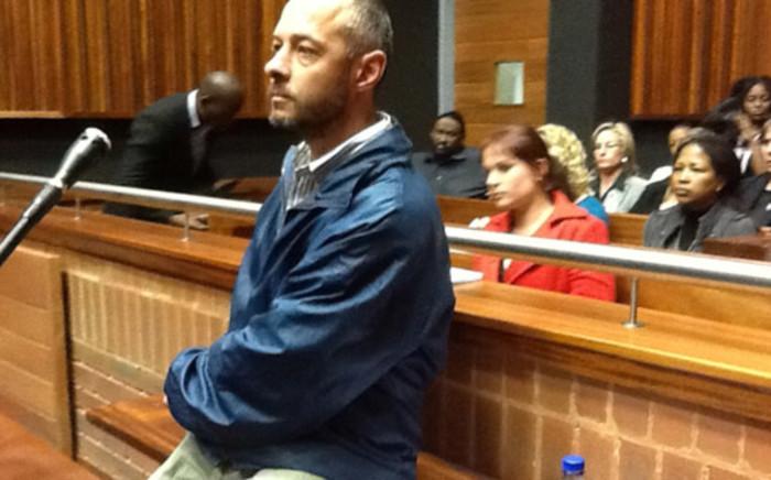 Johannes Steyn, dubbed the Sunday Rapist, in court. Picture: Andrea van Wyk/EWN