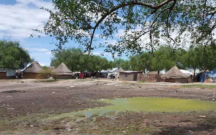 Pieri, a town in Jonglei State in northeastern South Sudan, where MSF runs a primary healthcare centre. On Saturday fighting between Lou Nuer and Murle groups broke out in and around Pieri. Picture: MSF