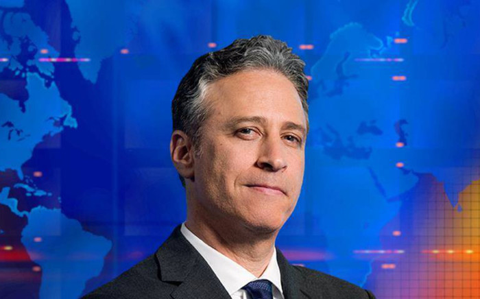 American comedian Jon Stewart. Picture: Comedy Central Facebook page.