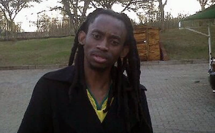 Outsourcing Must Fall campaign organiser Vusi Mahlangu. Picture: @Marxist_Oldman via Twitter.