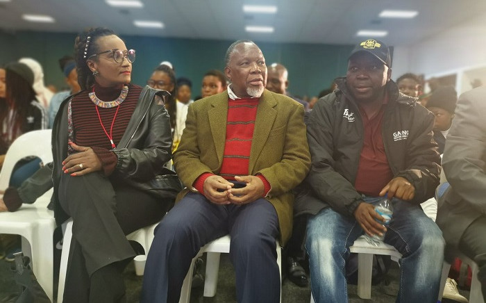 Kgalema Motlanthe at the Youth Expo in Nasrec. Picture: Gauteng Government.