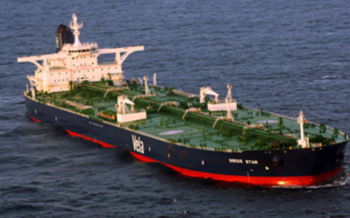 Somali pirates have released the hijacked supertanker Sirius Star. The Saudi-owned crude carrier was hijacked by Somali pirates November 15, 2008. Picture: William S. Stevens/U.S. Navy via Getty Images