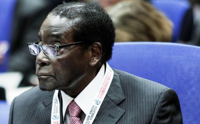 FILE: Former President of Zimbabwe Robert Mugabe. Picture: AFP.