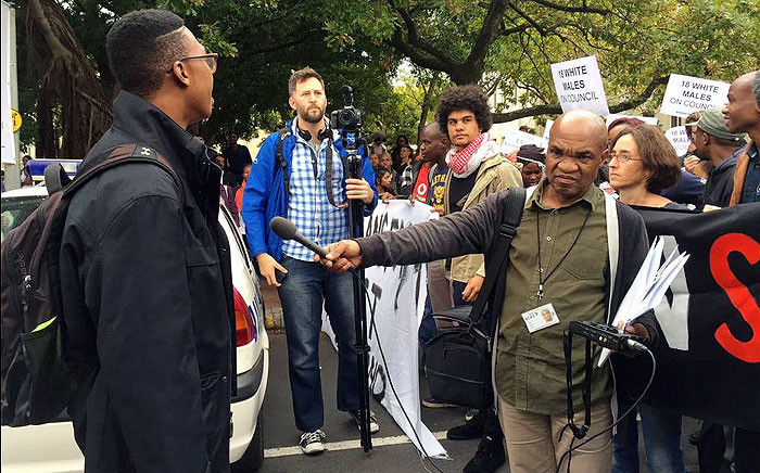 Some students and staff at Stellenbosch University want the newly elected rector to speed up the process of transformation at the university. Picture: Monique Mortlock/EWN
