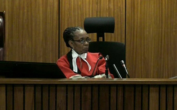 FILE: An advocate says that Judge Thokozile Masipa's ruling on Tuesday may have consequences for other trials. Picture: Supplied.