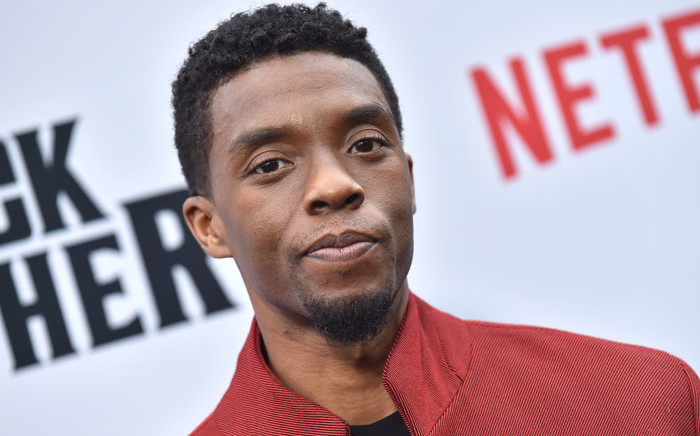 """FILE: US actor Chadwick Boseman attends Netflix's """"The Black Godfather"""" premiere at Paramount Studios Theatre in Los Angeles on 3 June 2019. Picture: AFP"""