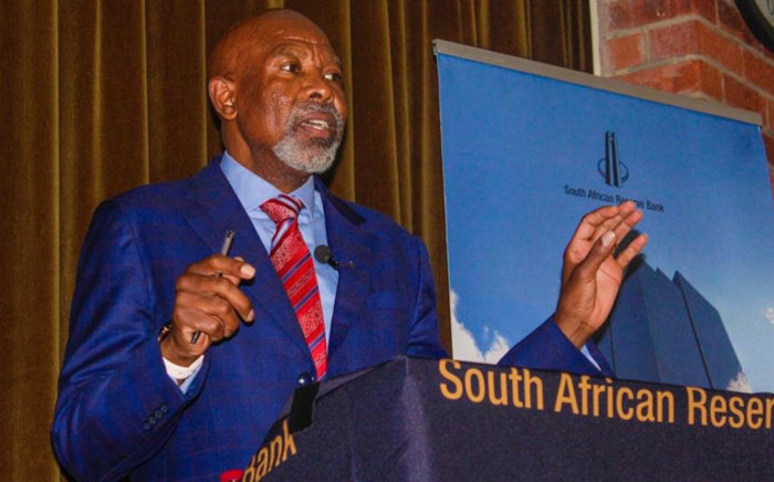 South African Reserve Bank Governor Lesetja Kganyago. Picture: @SAReserveBank/Twitter