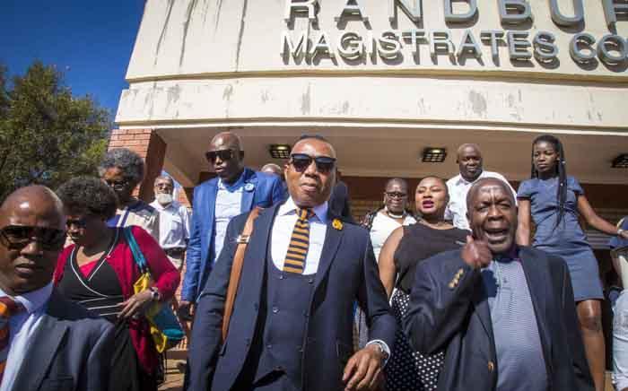 FILE: Mduduzi Manana leaves Randburg Magistrates Court on 13 September 2017. Picture: Thomas Holder/EWN