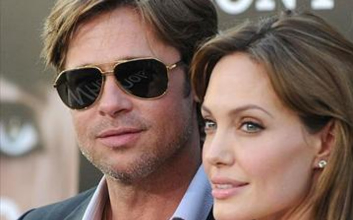 Actor Brad Pitt and his partner Angelina Jolie. Picture: Supplied
