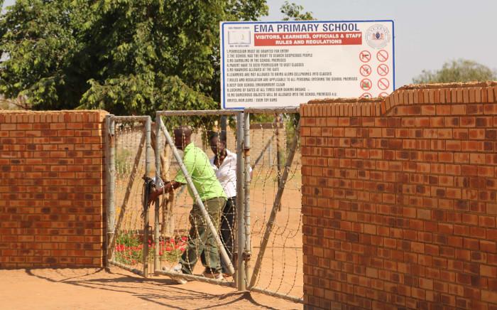Ema Primary School in Winterveldt, north of Pretoria. Picture: Christa Eybers/EWN.