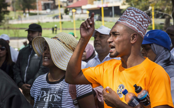 FILE: Residents of Westbury and surrounds march against crime. Picture: Thomas Holder/EWN