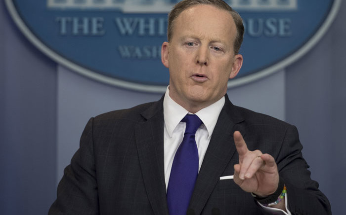 White House spokesperson Sean Spicer. Picture: AFP