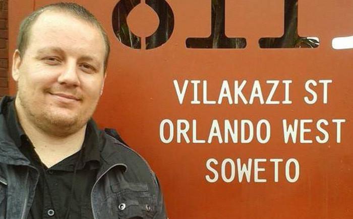 SABC journalist, Jacques Steenkamp. Picture: Jacques Stennkamp Facebook.