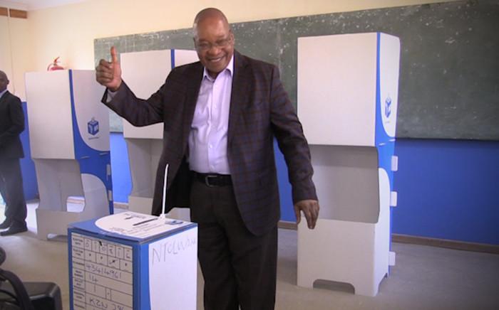 ANC leader Jacob Zuma. Picture: Kgothatso Mogale/EWN.