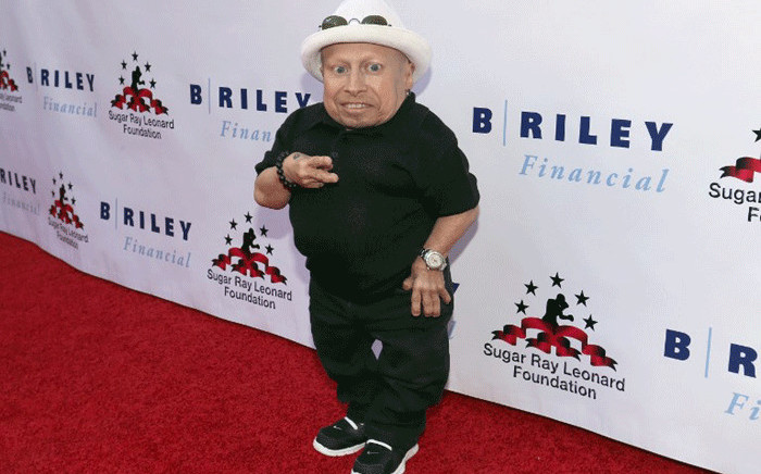 """File: Verne Troyer attends B. Riley & Co. and Sugar Ray Leonard Foundation's 7th Annual """"Big Fighters, Big Cause"""" Charity Boxing Night at Dolby Theatre on 25 May 2016 in Hollywood, California. Picture: AFP"""