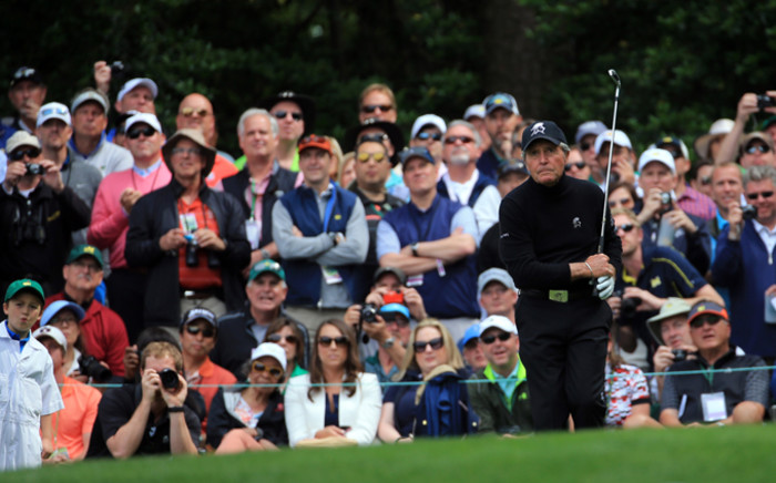 FILE: Gary Player plays a shot during the Par 3 Contest prior to the start of the 2016 Masters Tournament at Augusta National Golf Club on 6 April, 2016 in Augusta, Georgia. Picture: AFP.
