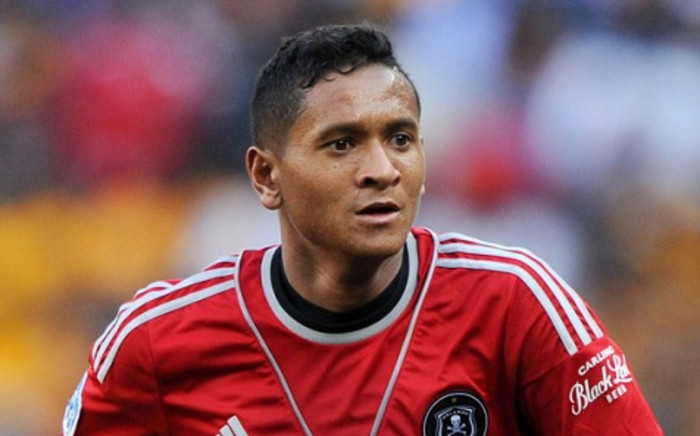 Orlando Pirates midfielder Daine Klate has ruled out a title charge for his side this season. Picture: Facebook.