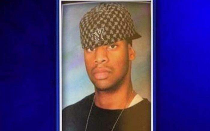Usaama Rahim shot dead by Boston police as it is believed he was part of ISIS. Picture: CNN screen shot