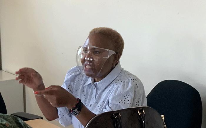 FILE: Social Development Minister Lindiwe Zulu visiting Sassa offices in Gugulethu on 14 January 2021. Picture: Kaylynn Palm/Eyewitness News.