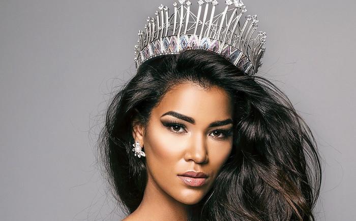 Miss SA 2019 Sasha-Lee Olivier. Picture: @Official_MissSA/Twitter