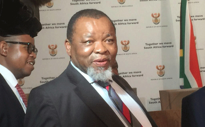 FILE: Minister of Mineral Resources and Energy Gwede Mantashe. Picture: Nthakoana Ngatane/EWN.