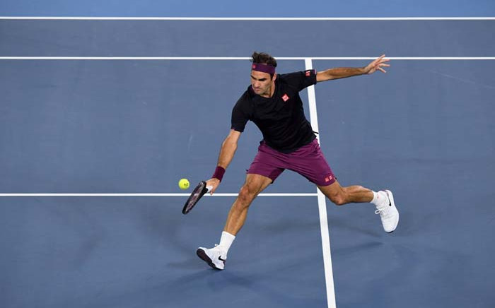 Switzerland's Roger Federer. Picture: @AustralianOpen/Twitter