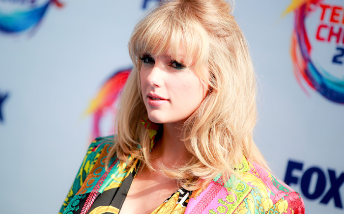 Taylor Swift attends FOX's Teen Choice Awards 2019 on 11 August 2019 in Hermosa Beach, California. Picture: AFP