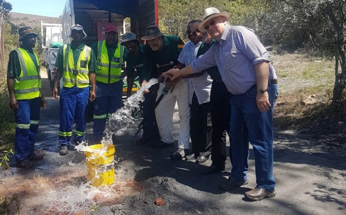 FILE: Gift of the Givers drilling a borehole in drought-stricken Makhanda. Picture: Gift of the Givers