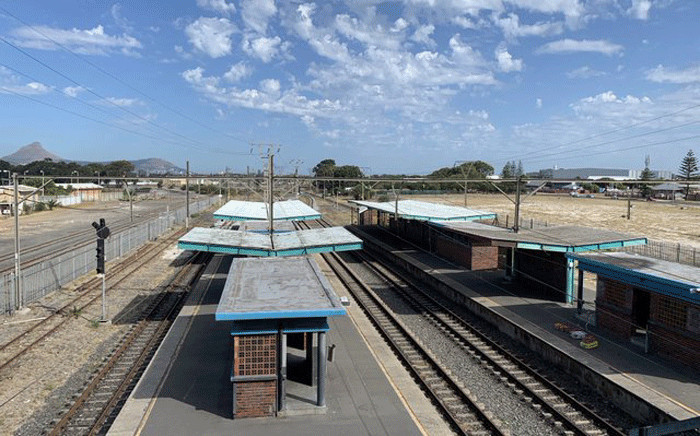 Since October 2019,  services have been suspended on the Central Line between Cape Town to Chris Hani and Cape Town to Kapteinsklip due to extensive overhead cable theft and infrastructure damage. Picture: Kaylynn Palm/EWN.