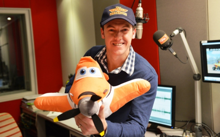 Radio personality Darren 'Whackhead' Simpson will voice a character in Disney's upcoming animation 'Planes: Fire & Rescue'. Picture: Supplied.