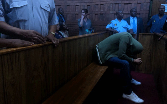 Nicholas Ninow, who is accused of raping a seven-year-old girl in a Dros restaurant, appears in the Pretoria Magistrates Court on 1 November 2018. Picture: Mia Lindeque/EWN.